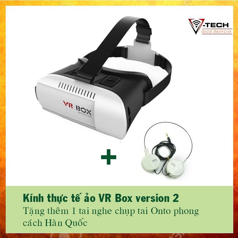 Kính thực tế ảo 3D VR Box giá siêu rẻ phiên bản 2 tặng tai nghe chụp tai Onto - 2893755 , 808462159 , 322_808462159 , 150000 , Kinh-thuc-te-ao-3D-VR-Box-gia-sieu-re-phien-ban-2-tang-tai-nghe-chup-tai-Onto-322_808462159 , shopee.vn , Kính thực tế ảo 3D VR Box giá siêu rẻ phiên bản 2 tặng tai nghe chụp tai Onto