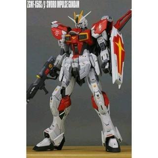 [ FREESHIP - Hàng có sẵn] Mô Hình Lắp Ráp Gundam MG 8813 Sword Impulse Daban tặng kèm Action Base thumbnail
