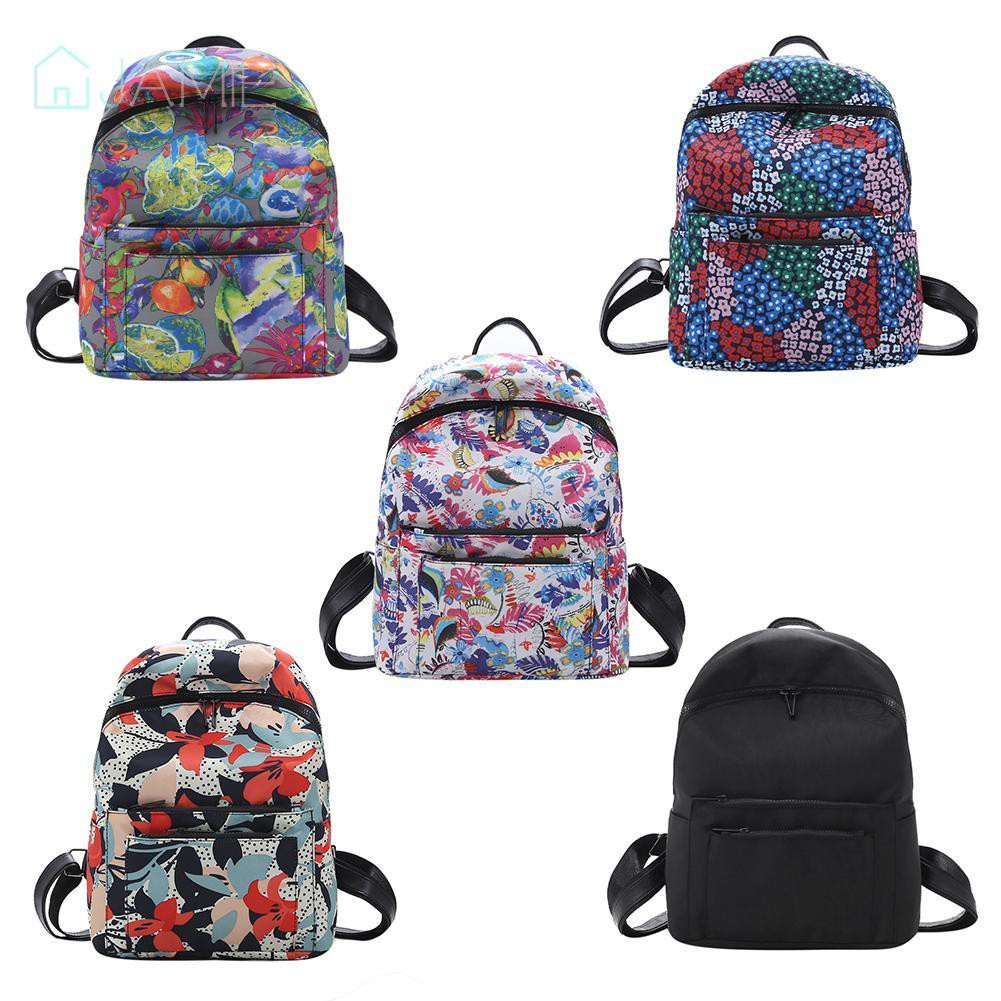 🌸Nylon College Style Backpack Shoulder Simple Large Capacity