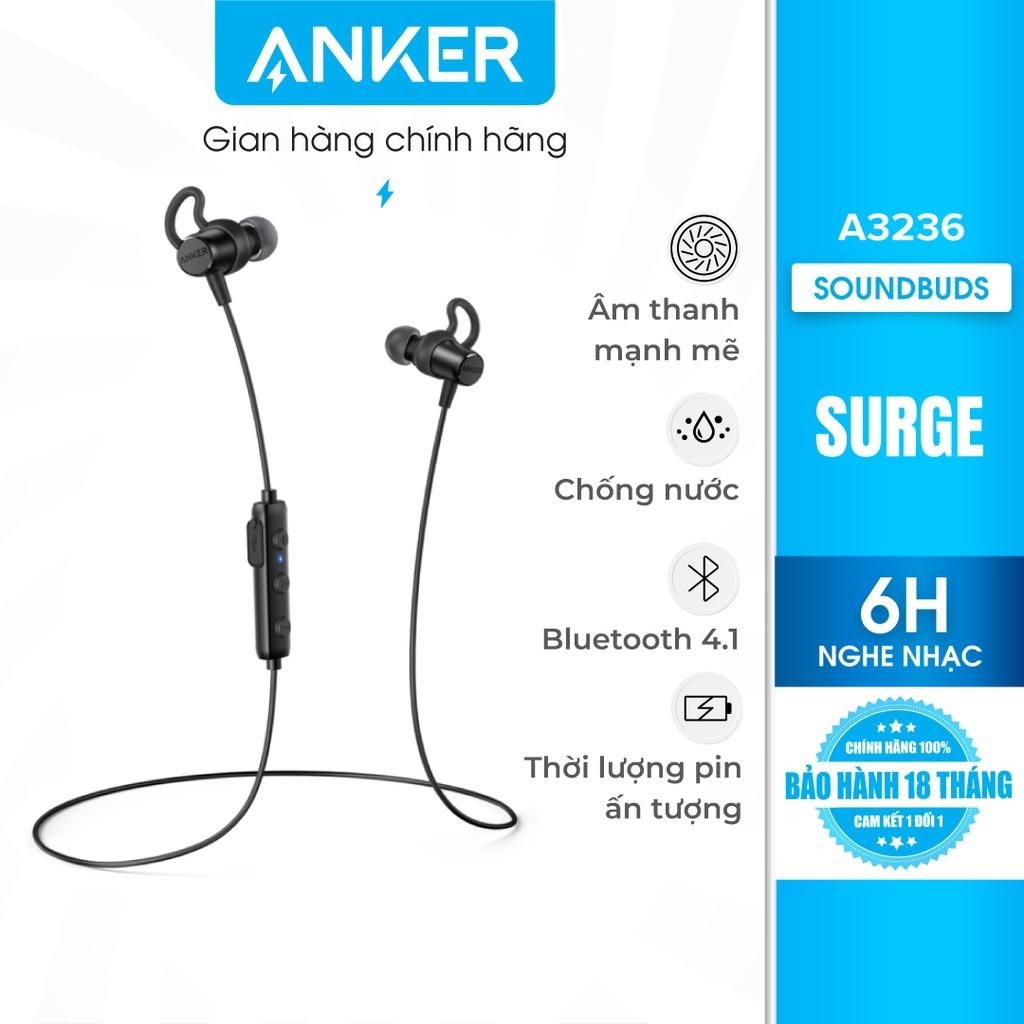 Tai nghe bluetooth ANKER SoundBuds Surge - A3236 - Tai Nghe Bluetooth Nhét  Tai