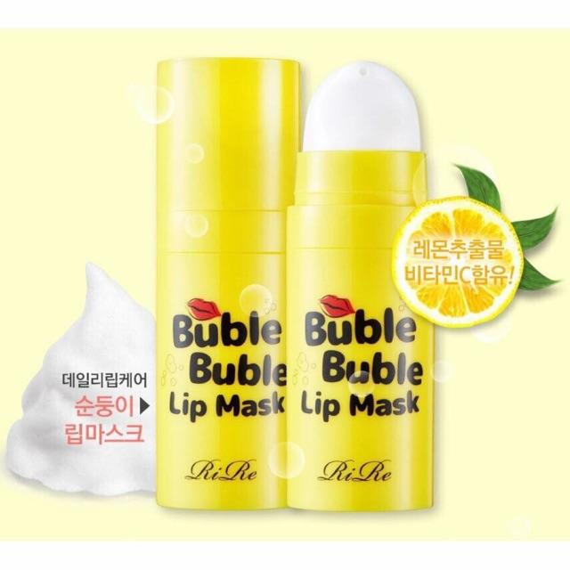 [Sale68%]Mặt nạ tẩy da chết môi RIRE Bubble Lip Mask