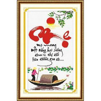 Tranh thêu chữ thập chưa thêu Mẹ Mang Một Nắng Hai Sương, Đem Ra Chợ Đổi Làm Đường Con Đi - 3266093 , 388234496 , 322_388234496 , 91000 , Tranh-theu-chu-thap-chua-theu-Me-Mang-Mot-Nang-Hai-Suong-Dem-Ra-Cho-Doi-Lam-Duong-Con-Di-322_388234496 , shopee.vn , Tranh thêu chữ thập chưa thêu Mẹ Mang Một Nắng Hai Sương, Đem Ra Chợ Đổi Làm Đường Con