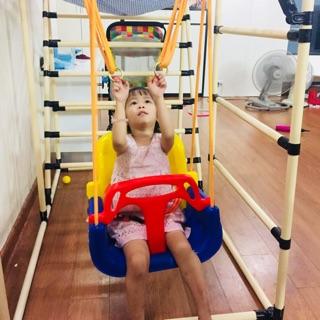 Ghế xích đu em bé nhựa – Hàng nhập khẩu an toàn cho bé