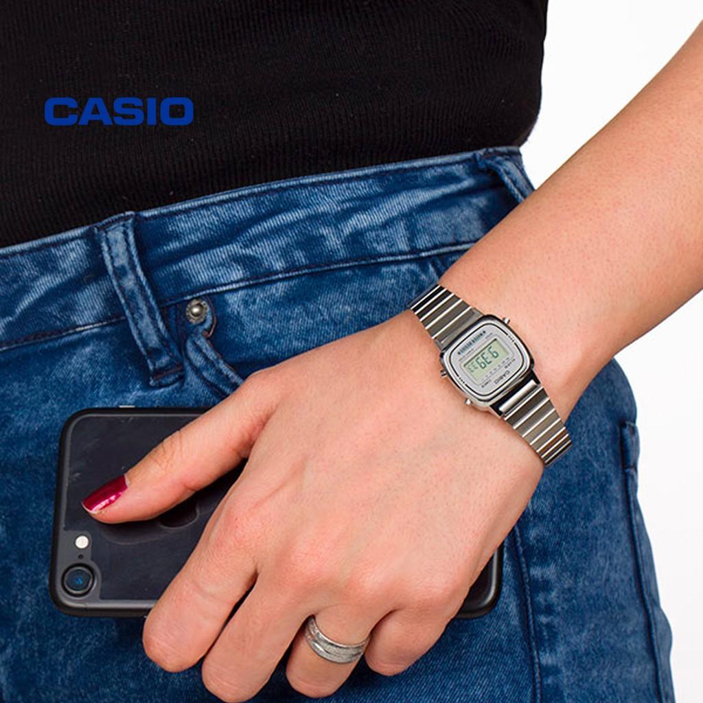 Đồng hồ nữ CASIO LA670WA-7DF/LA670WA-7SDF chính hãng - Bảo hành 1 năm, Thay pin miễn phí