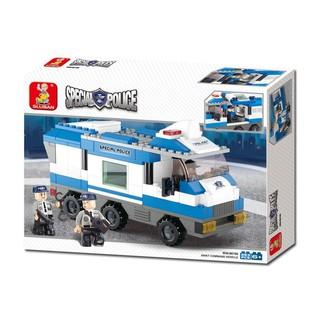 Đồ chơi lắp ghép các phương tiện chuyên dụng đội cảnh sát đặc nhiệm – POL- M38-B0188