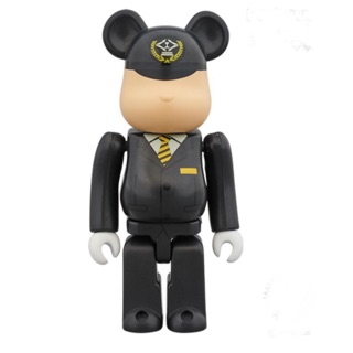 100% Bearbrick Train Captain