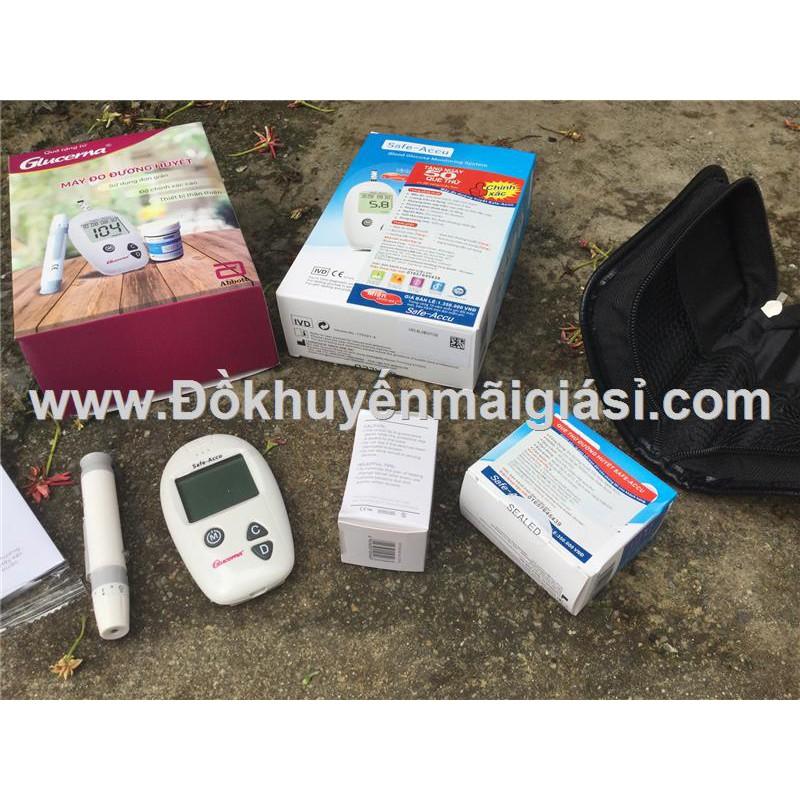 Máy đo đường huyết Sinocare Safe-Accu kèm 50 que thử- Sữa Glucerna Abbott tặng - 3290349 , 1309714522 , 322_1309714522 , 200000 , May-do-duong-huyet-Sinocare-Safe-Accu-kem-50-que-thu-Sua-Glucerna-Abbott-tang-322_1309714522 , shopee.vn , Máy đo đường huyết Sinocare Safe-Accu kèm 50 que thử- Sữa Glucerna Abbott tặng
