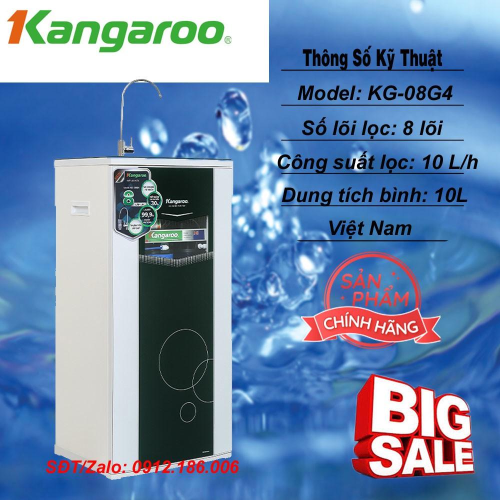 Máy lọc nước RO 8 lõi lọc model KG-08G4