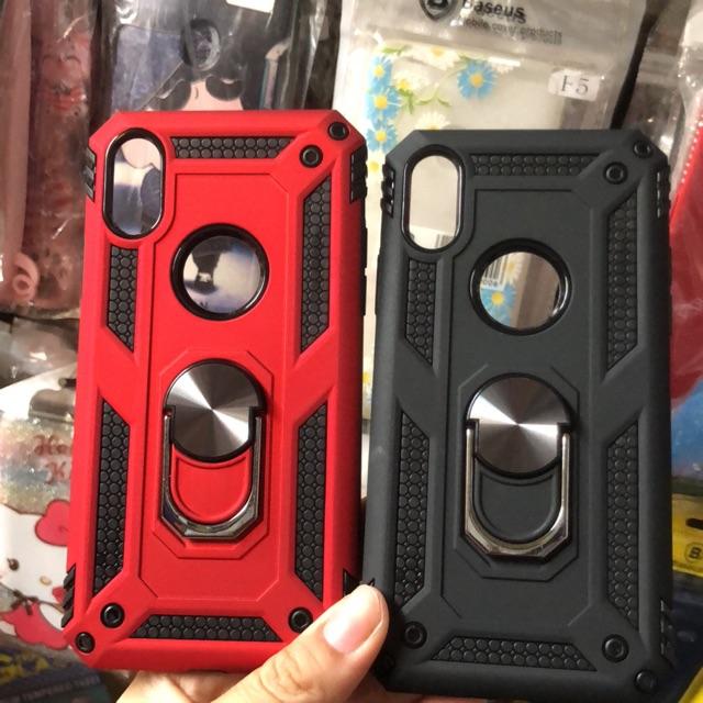 Iphone X ốp lưng chống sốc kèm iring siêu đẹp