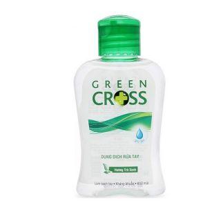 Dung dịch rửa tay khô 100ml Cross Green, hàng Siêu thị, ngừa dịch cúm