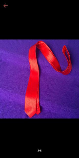 Cà vạt nam Hàn Quốc- cà vạt bản nhỏ- cà vạt đỏ chú rể- cà vạt đỏ đồng phục
