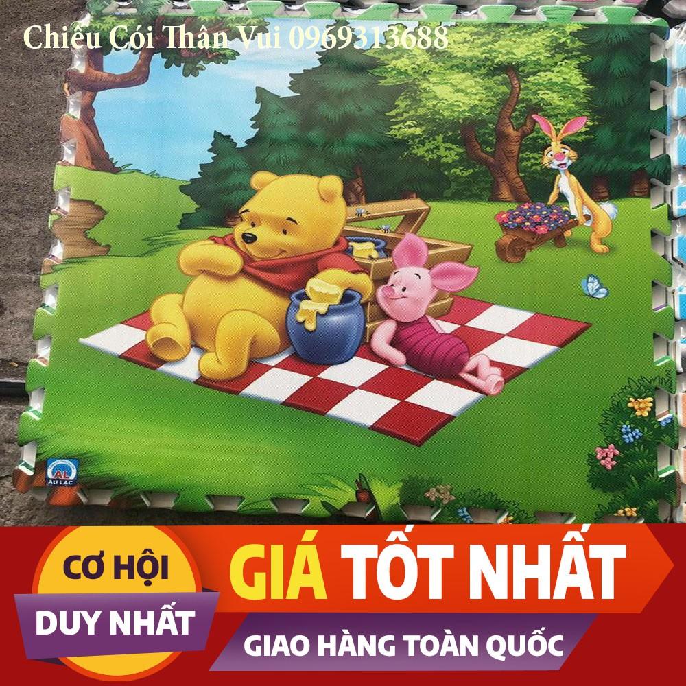 Thảm Xốp Hình  ÂU LẠC  Hàng Việt Nam tốt cho trẻ em 60x60cm Bộ 4 tấm