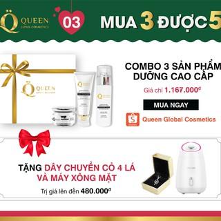Bộ sản phẩm dưỡng trắng da cao cấp Nhật Bản Queen Japan Cosmetics thumbnail
