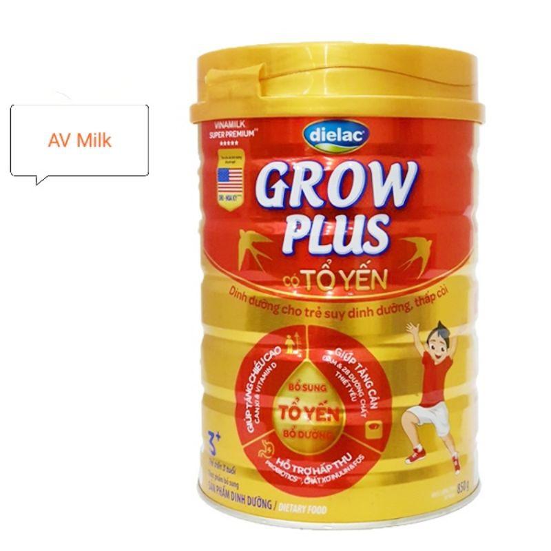 Sữa Dielac Grow Plus Tổ Yến 3+ 850g Vinamilk