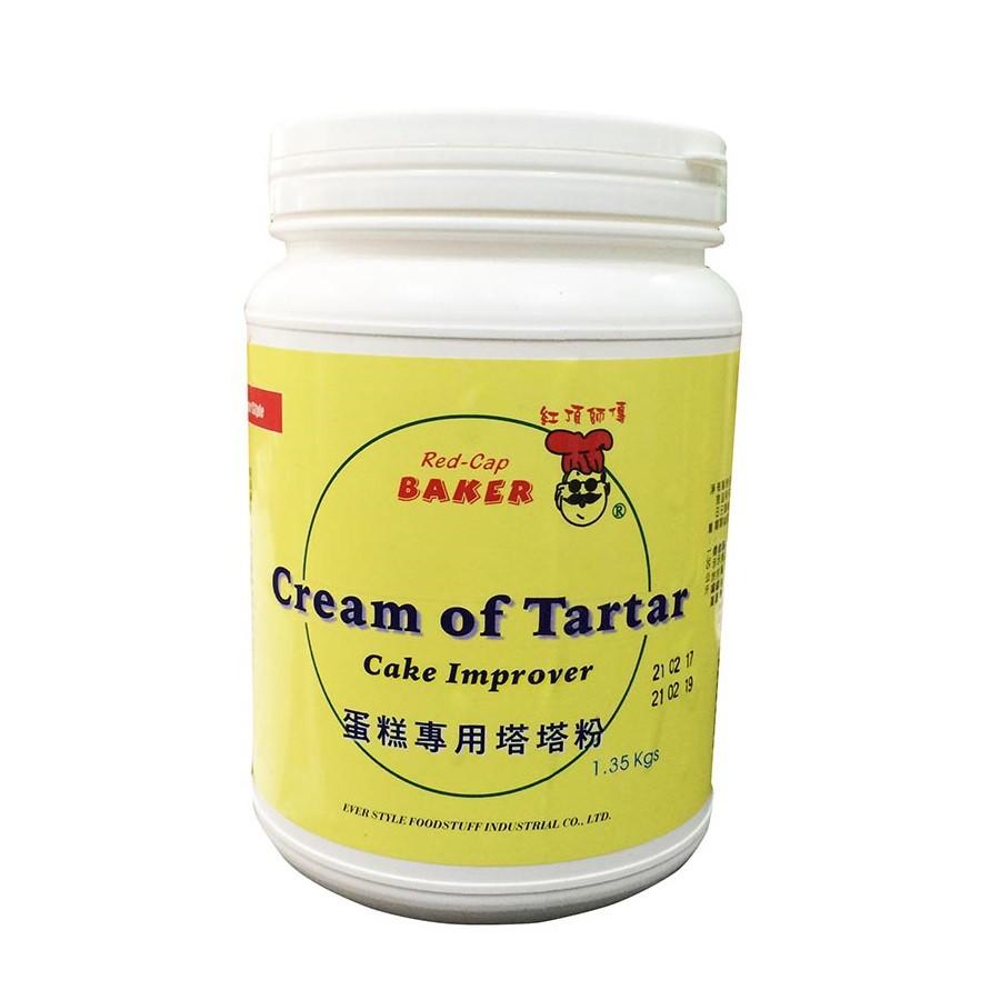 Bột cream of tartar Red Cap - Baker 1,35kg - 14871753 , 2311580937 , 322_2311580937 , 280000 , Bot-cream-of-tartar-Red-Cap-Baker-135kg-322_2311580937 , shopee.vn , Bột cream of tartar Red Cap - Baker 1,35kg