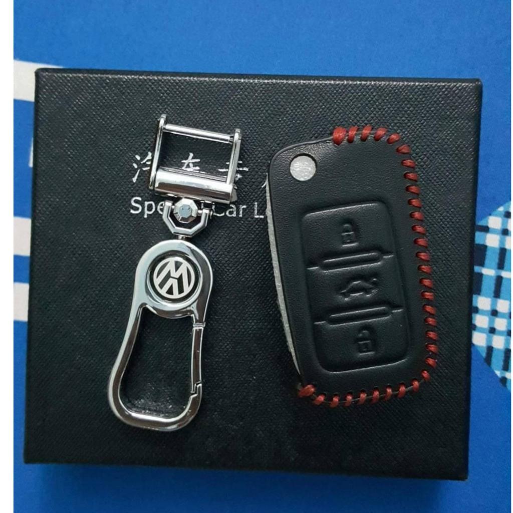 Bao da chìa khóa volkswagen