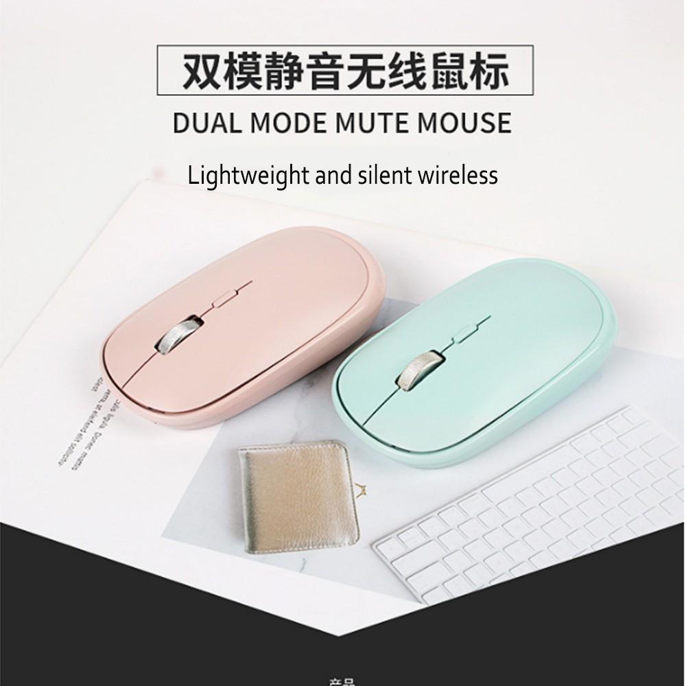 Chuột Không Dây Bluetooth 4 Nút 2.4ghz Cho Laptop