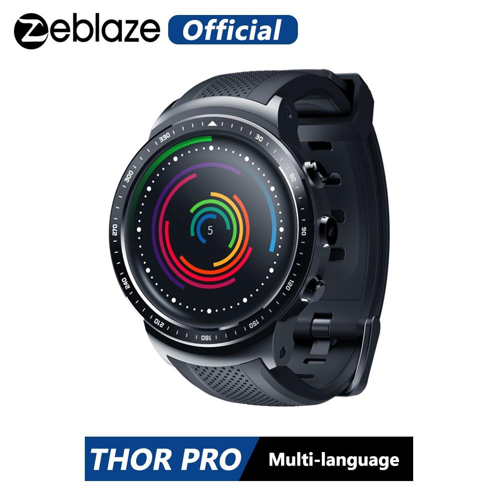 Đồng Hồ Thông Minh Zeblaze Thor Pro 3g Gps 1.53inch Android 5.1 Mtk6580 1.0ghz 1gb+16gb Bt 4.0