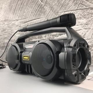 [Mã ELFLASH5 giảm 20K đơn 50K] Loa Sách Tay KiMiSo KM-S1 Kết Nối Bluetooth Có Đèn Led Kèm Micro Hát Karaoke