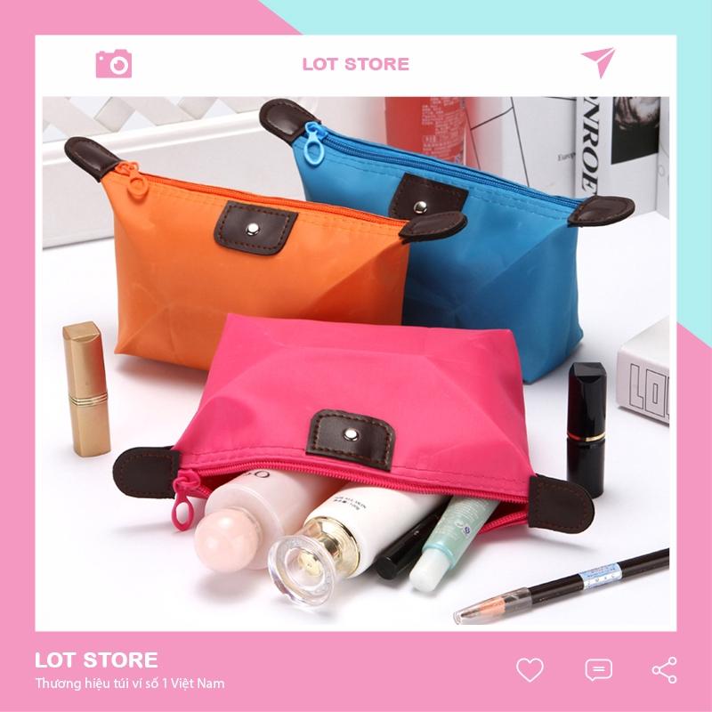 Túi đựng mỹ phẩm trang điểm cá nhân chống thấm nhỏ gọn tiện lợi TI06