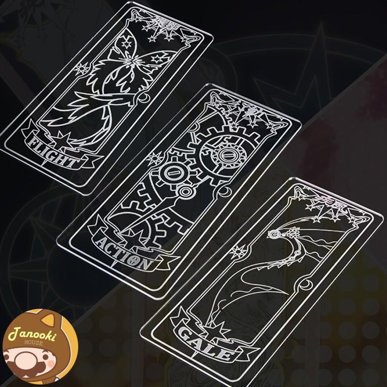 CLEAR CARD (NHỰA CỨNG)