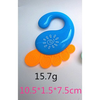 Baby Rattles Teether Shaker Grab and Spin Rattle Musical Toy Early Educational