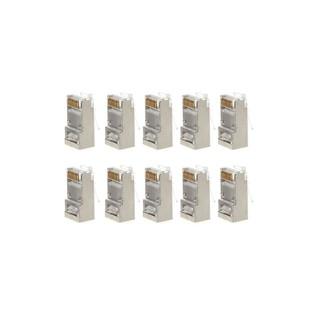 Bộ 10 Linh Kiện Điện Tử Cat6 8-pin Rj45 8p8c thumbnail