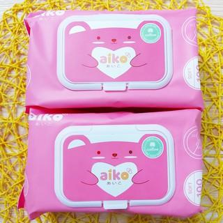 Khăn ướt cho bé Aiko 100 tờ không mùi thumbnail