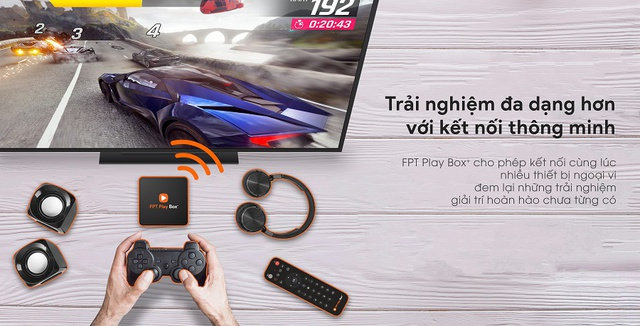FPT Play Box+ 4K 2019 (Model S400) Phiên Bản Android TV 9 (P)
