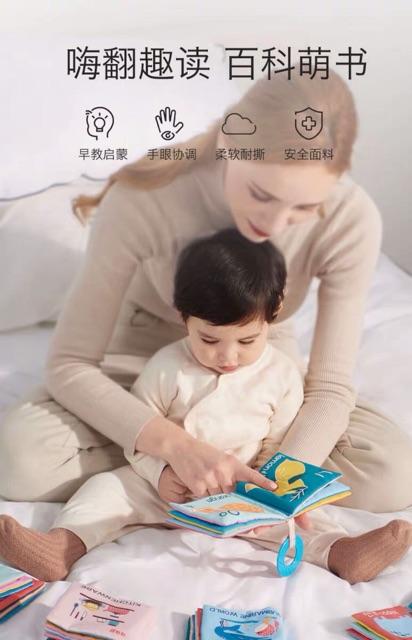 Sách vải cao cấp cho bé gom sale ❤️❤️❤️