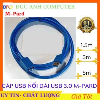 Cáp USB Nối Dài 3.0 M-PARD 1.5M/ 3M/ 5M (Cáp Xịn, Chính Hãng)- Bảo Hành 12 Tháng - 1 Đổi 1