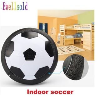 [CÓ SẴN] Bóng đá đĩa trong nhà (Indoor soccer) tặng con quay xả Stress (xanh dương) -dc2120+quay