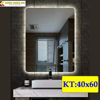 [ giá sỉ ] gương led cảm ứng nhà tắm treo tường thông minh kích thước 40×60 cm – guonghoangkim mirror
