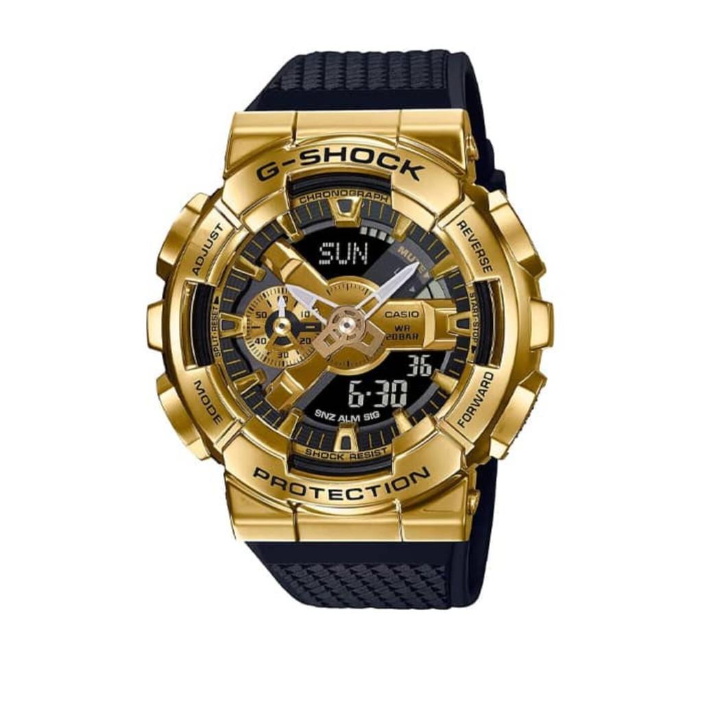 Đồng Hồ Nam Casio G-Shock GM-110G-1A9DR Chính Hãng - Dây Nhựa | G-Shock GM-110G-1A9