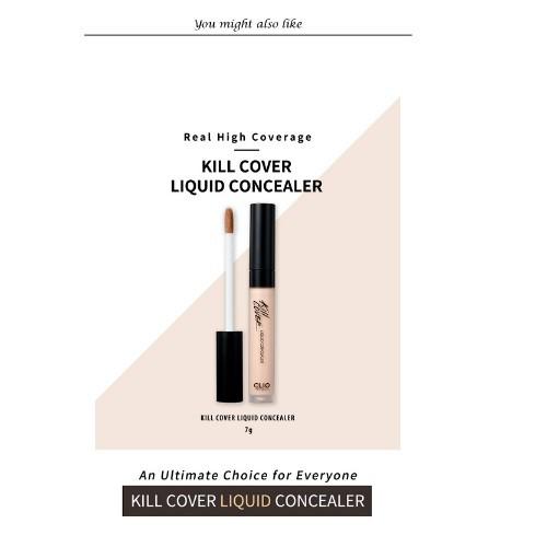 Kem Che Khuyết Điểm Clio Kill Cover Liquid Concealer 7G