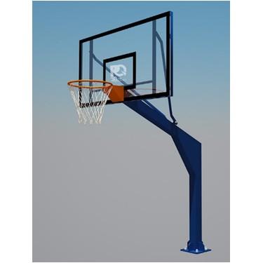 [FREESHIP 99K]Trụ bóng rổ cố định , bảng rổ 1800 * 1050 mm. TSCD-030