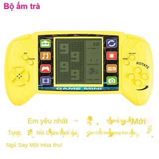 Máy chơi game điện tửĐồ chơi cầm tay Retro PSP Máy game Tetris cổ điển kiểu cũ post- Màn hình lớn đen trắng giải đố thumbnail