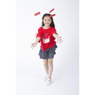 IVY moda chân váy bé gái MS 31G0625
