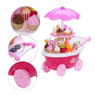 [HOT] bộ đồ chơi cho bé – xe đẩy kem có nhạc có đèn – CHẤT LƯỢNG CAO