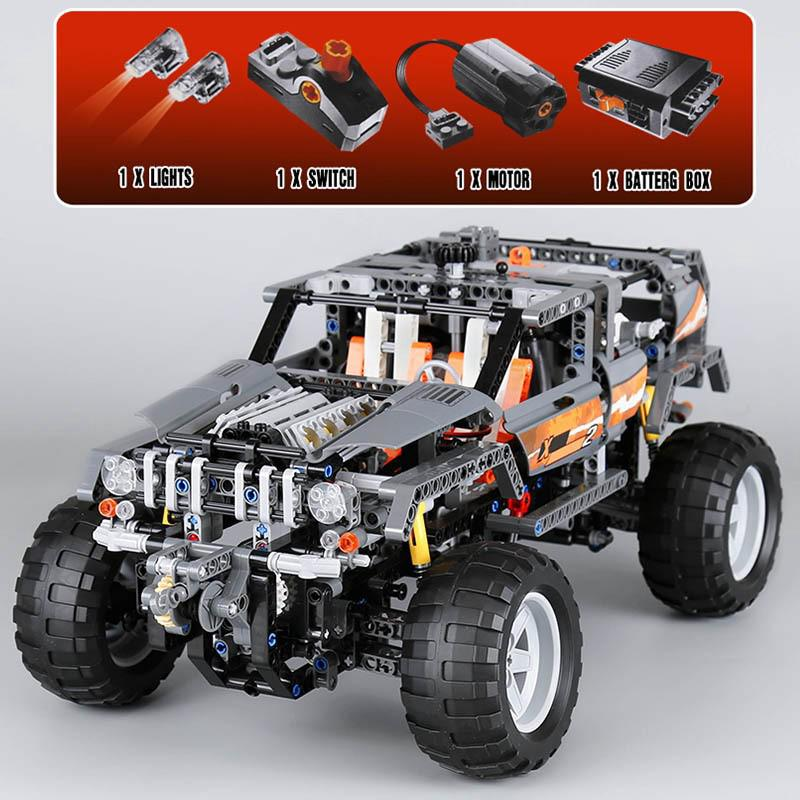 Compatible With 8297 Lepin 20030 Technic Off Roader Building Blocks