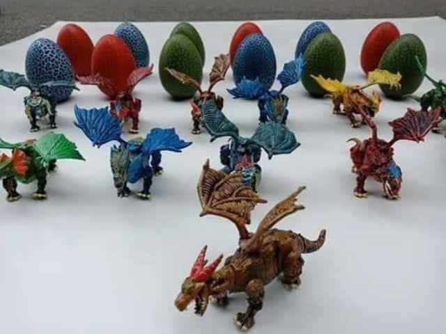 Set 12 khủng long có cánh