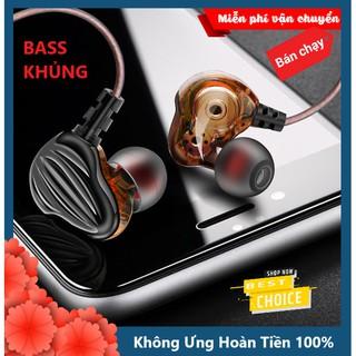 Tai Nghe Chống Ồn Fonge F6 Super Bass Pro 8D Cho Âm Thanh Vòm, Top Tai Phone Tốt Nhất 2020