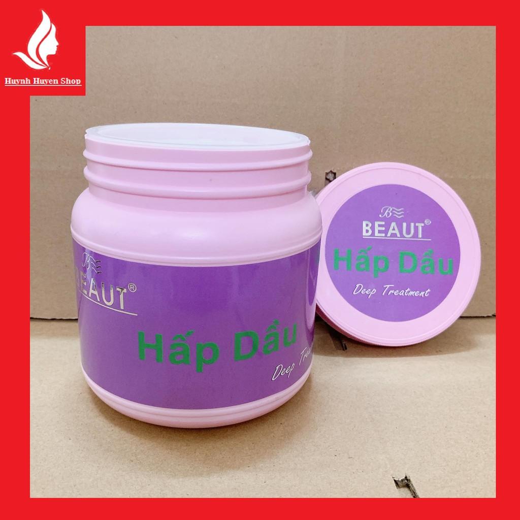 [chính hãng] kem hấp dầu beaut top chiết xuất oliu siêu thơm mượt hộp lớn 900g.