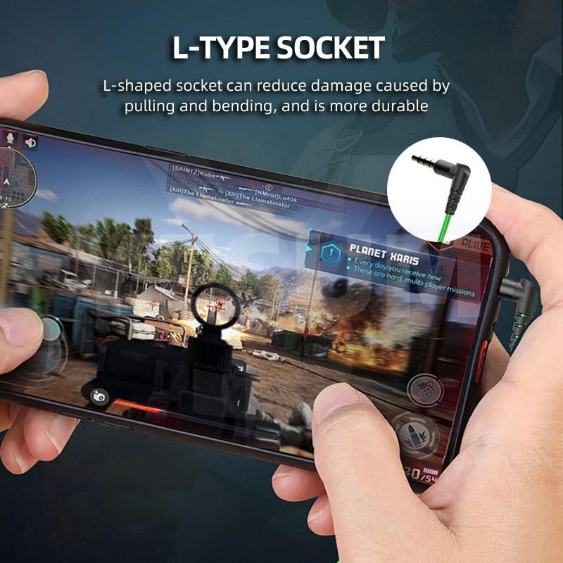 Tai Nghe Trùm Đầu Chơi Game Pubg 3d Chống Ồn Âm Thanh Stereo Sống Động Jack Cắm 3.5mm
