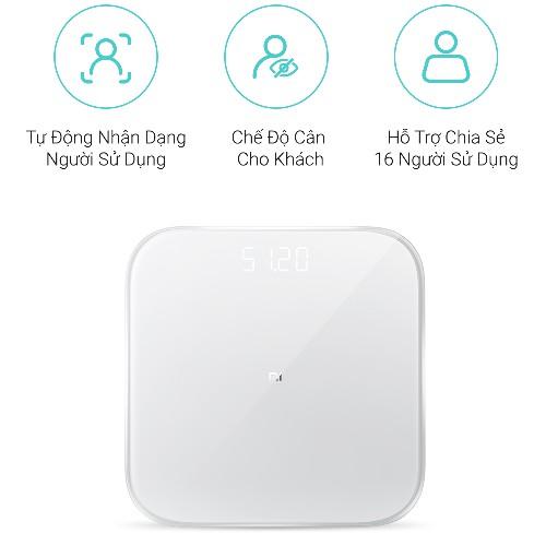 Cân Sức Khỏe Thông Minh Xiaomi Scale Gen 02 nhập khẩu
