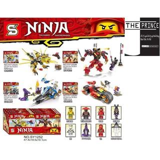 Bộ xếp hình LEGO ninjago remake phiên bản thu gọn SY1252