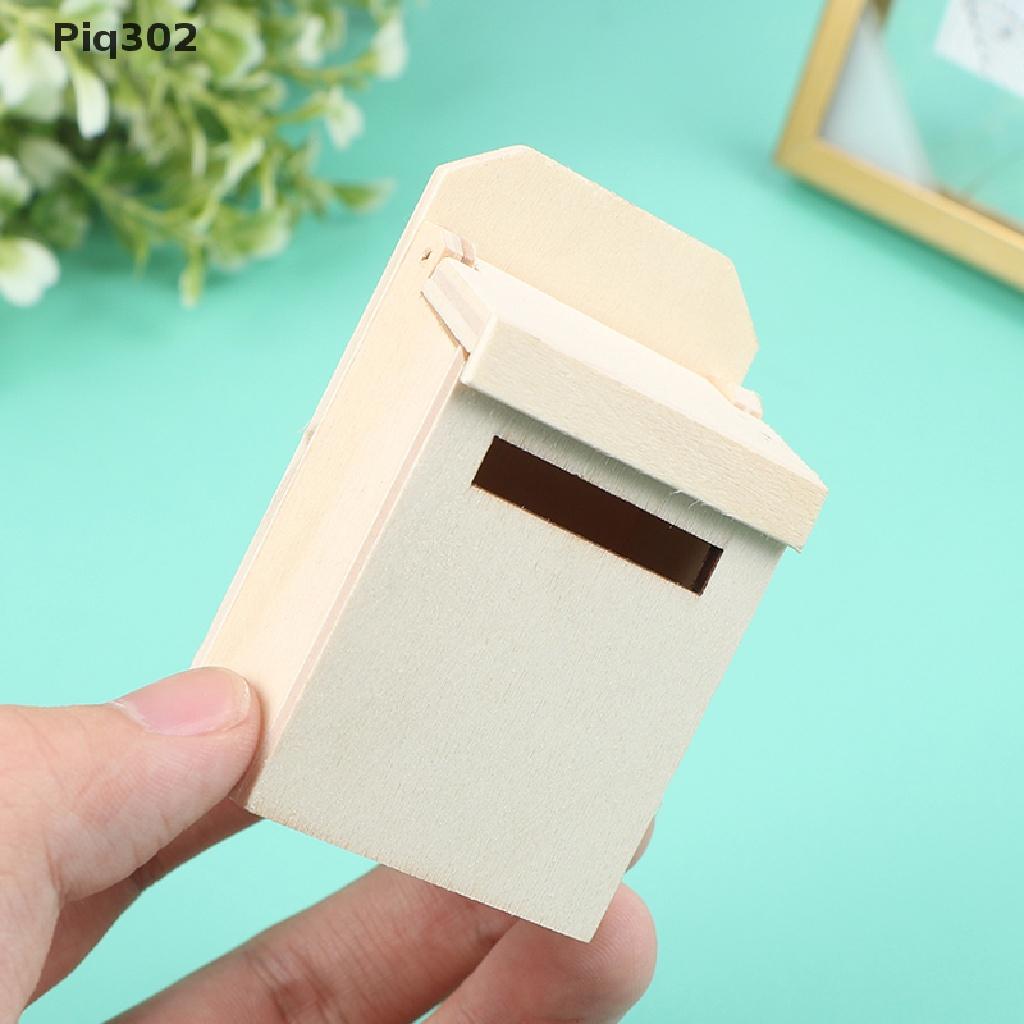 Mô hình hộp thư Mini 1:12 trang trí nhà búp bê