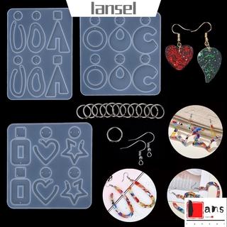 ❤LANSEL❤ 123Pcs/set Glue Dropping DIY Craft|Epoxy Jewelry Making Silicone Resin Mold