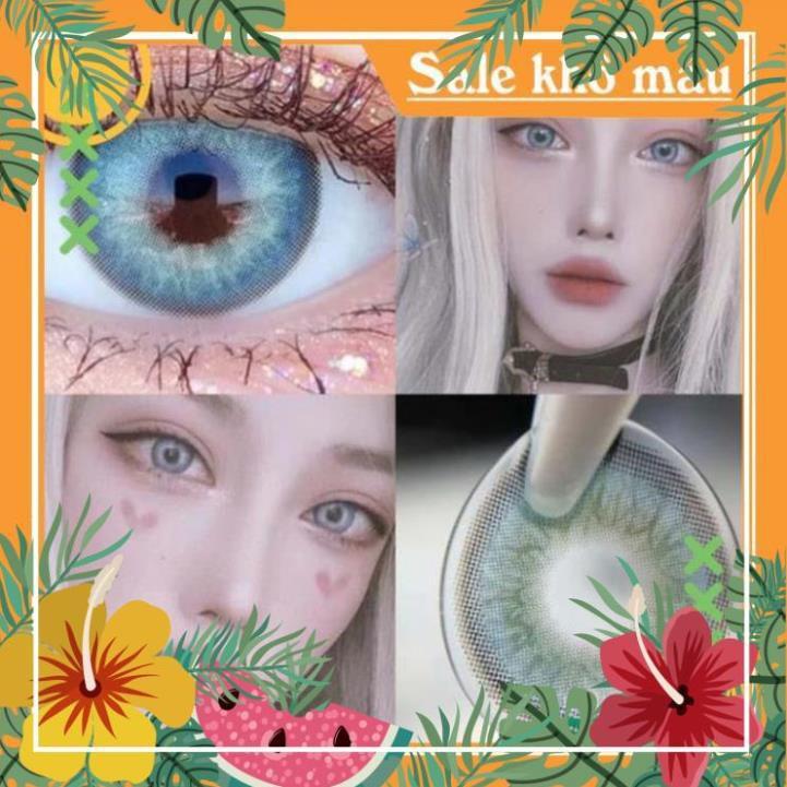 [HP9093] HG2810 h Cặp kính áp tròng màu sắc đẹp thời trang cho nữ lens thời trang HG2303