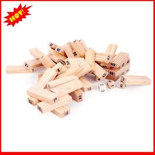 [Giá Rẻ Nhất] [Nhập TOYAPR10K giảm ngay 10K]Đồ chơi rút gỗ 54 thanh cho bé
